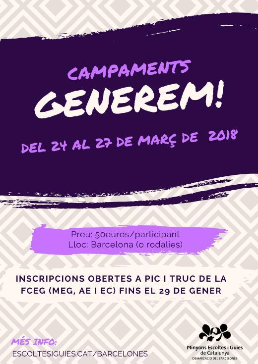 Campaments GENEREM!